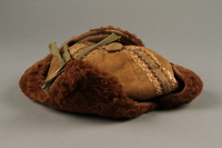 2018.498.2 right Child's hat purchased by a Polish Jewish soldier in the Soviet army for his daughter  Click to enlarge