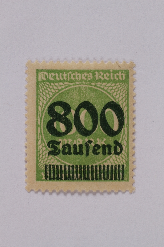 1992.221.100 front Postage stamp