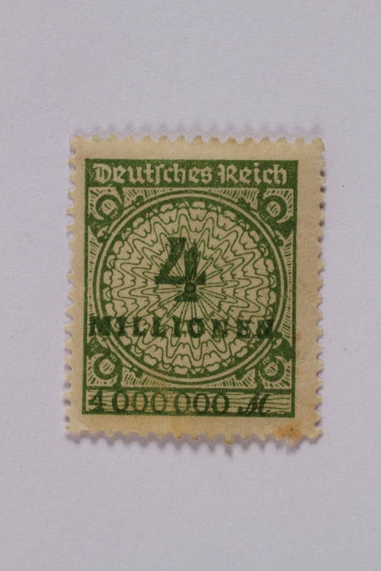 1992.221.105 front Postage stamp