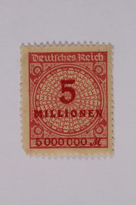 1992.221.111 front Postage stamp