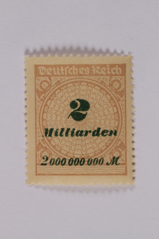 1992.221.120 front Postage stamp
