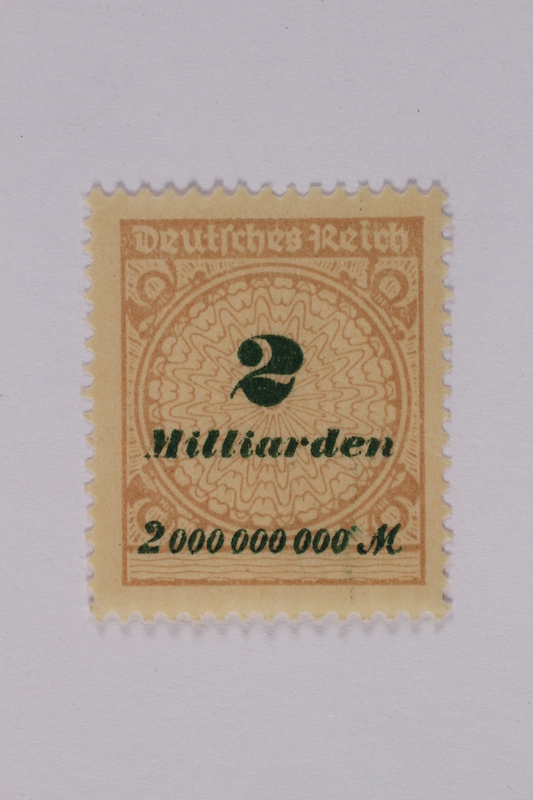 1992.221.121 front Postage stamp