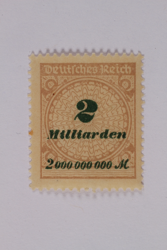 1992.221.122 front Postage stamp