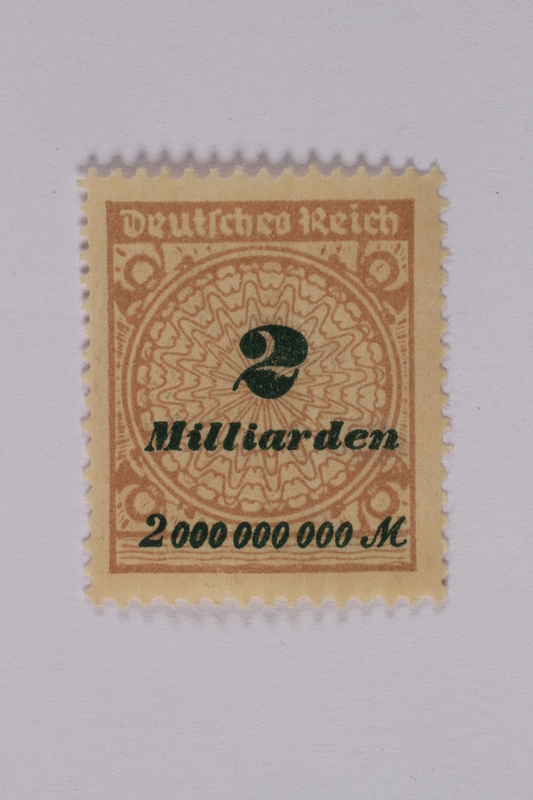 1992.221.123 front Postage stamp