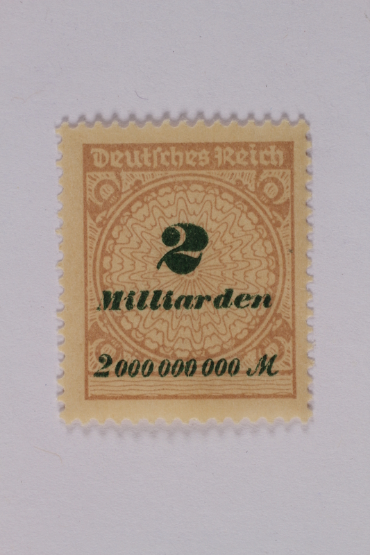 1992.221.124 front Postage stamp