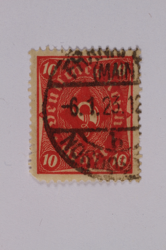 1992.221.142 front Postage stamp