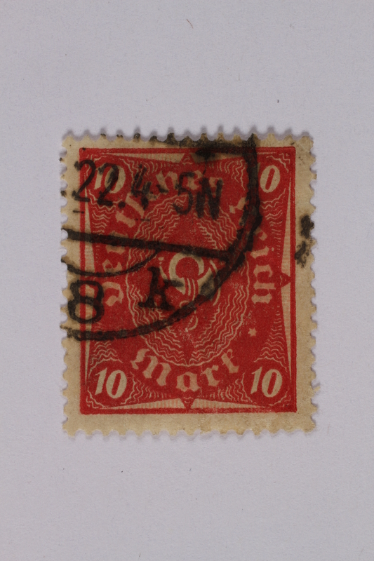 1992.221.143 front Postage stamp