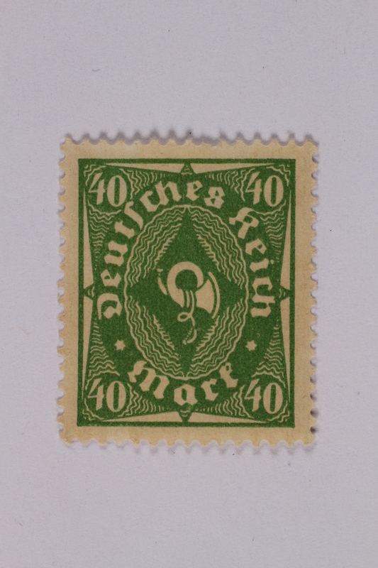 1992.221.145 front Postage stamp