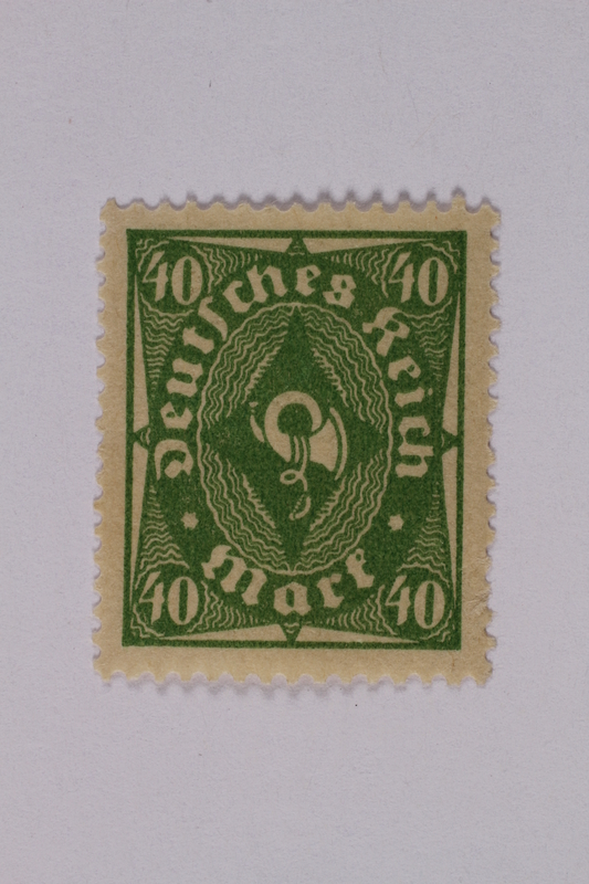 1992.221.148 front Postage stamp
