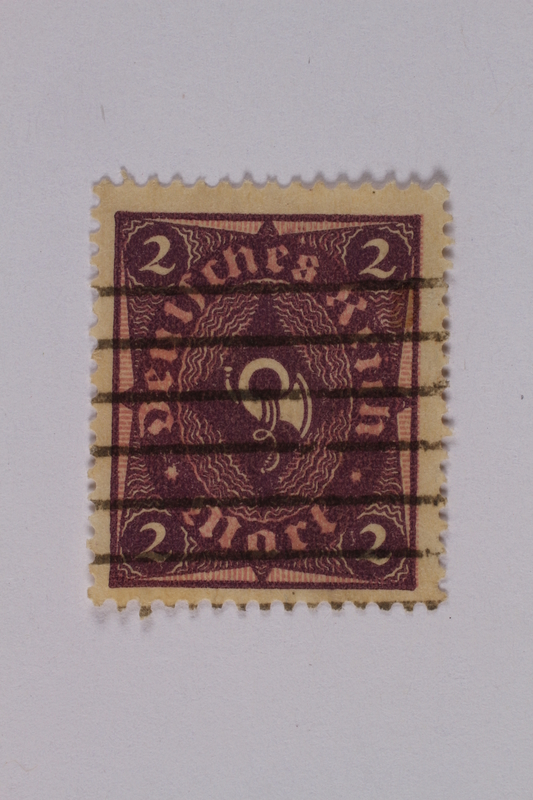 1992.221.150 front Postage stamp