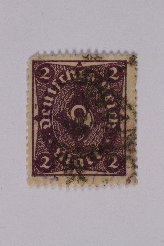 1992.221.151 front Postage stamp