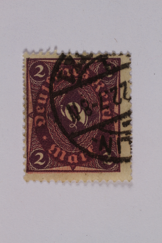 1992.221.152 front Postage stamp