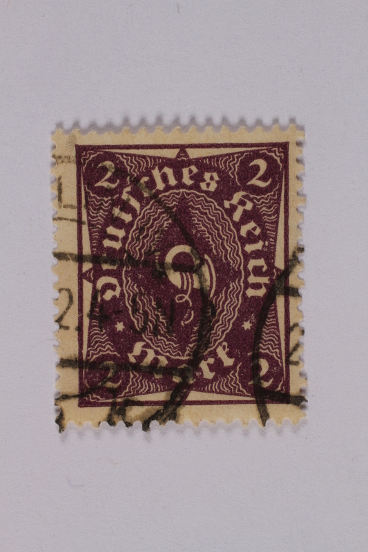 1992.221.153 front Postage stamp