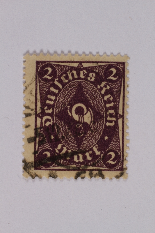 1992.221.154 front Postage stamp