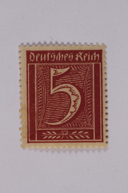 1992.221.156 front Postage stamp