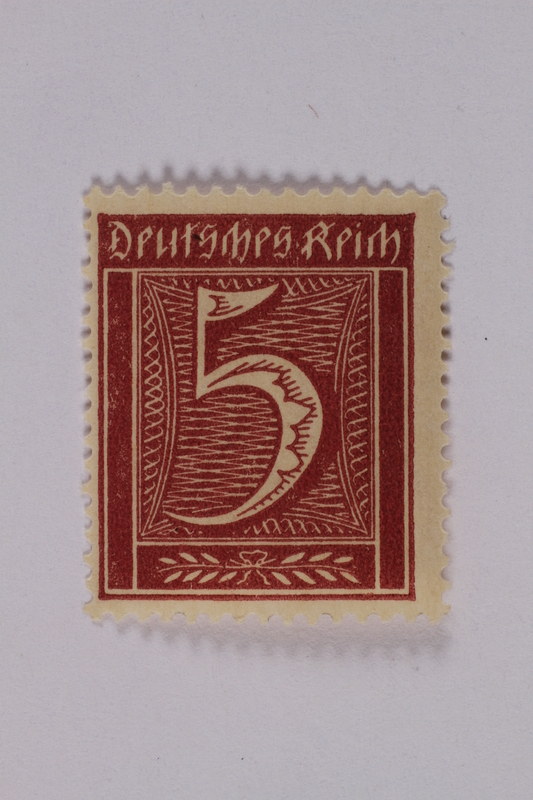 1992.221.157 front Postage stamp