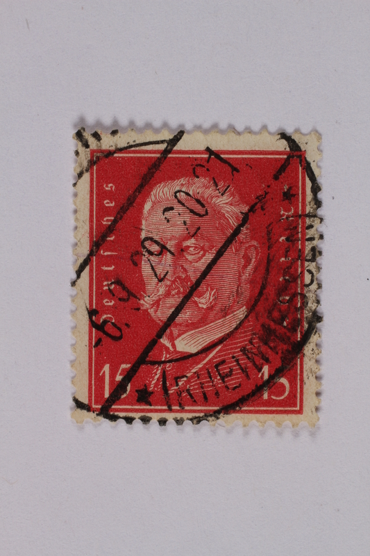 1992.221.158 front Postage stamp