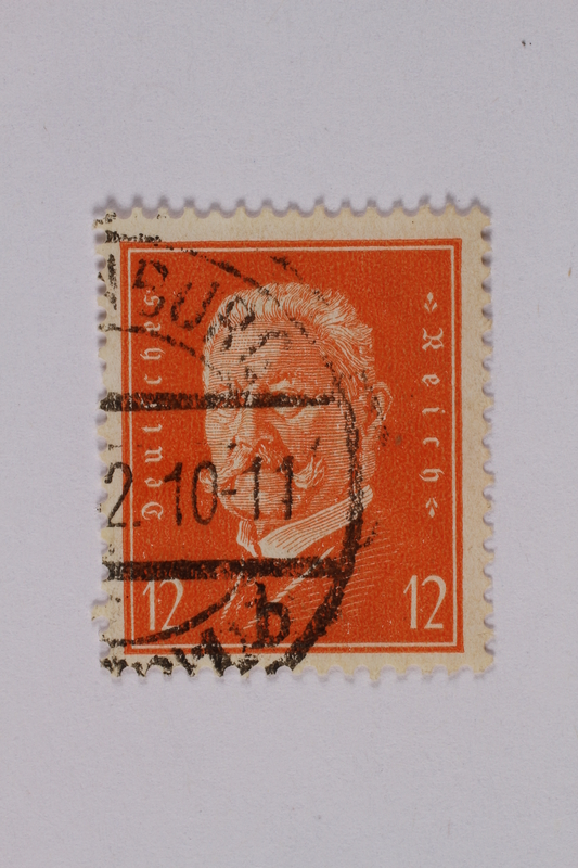 1992.221.159 front Postage stamp