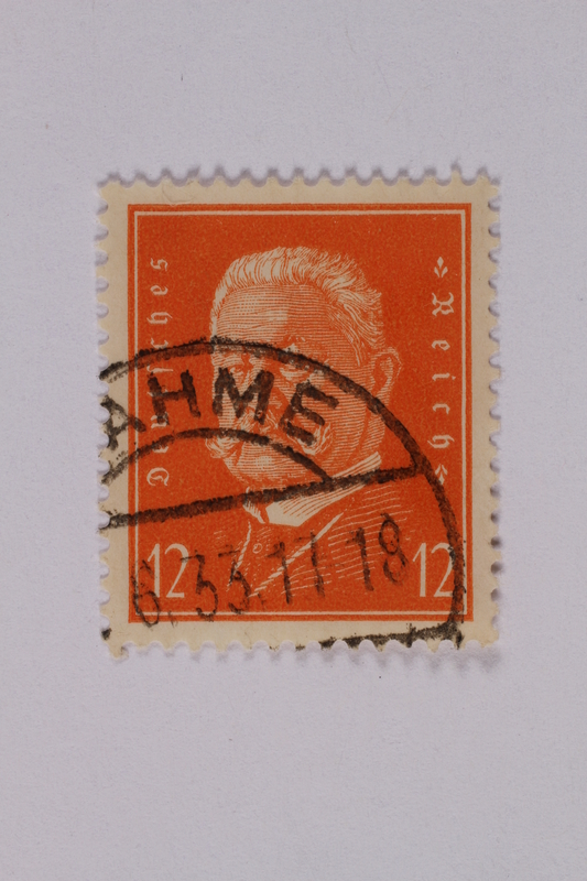 1992.221.160 front Postage stamp
