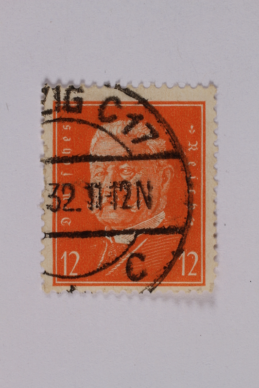 1992.221.161 front Postage stamp