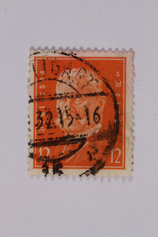 1992.221.162 front Postage stamp