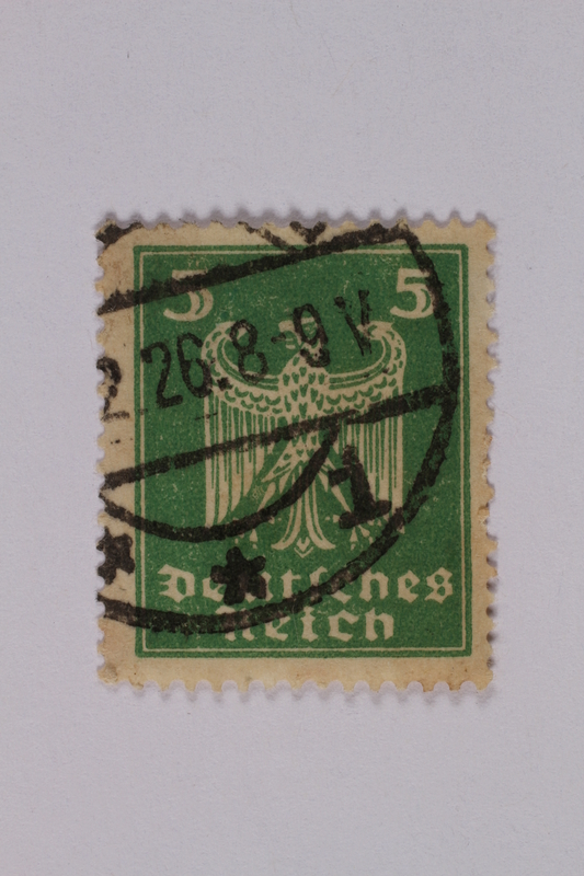 1992.221.163 front Postage stamp