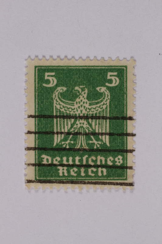 1992.221.164 front Postage stamp