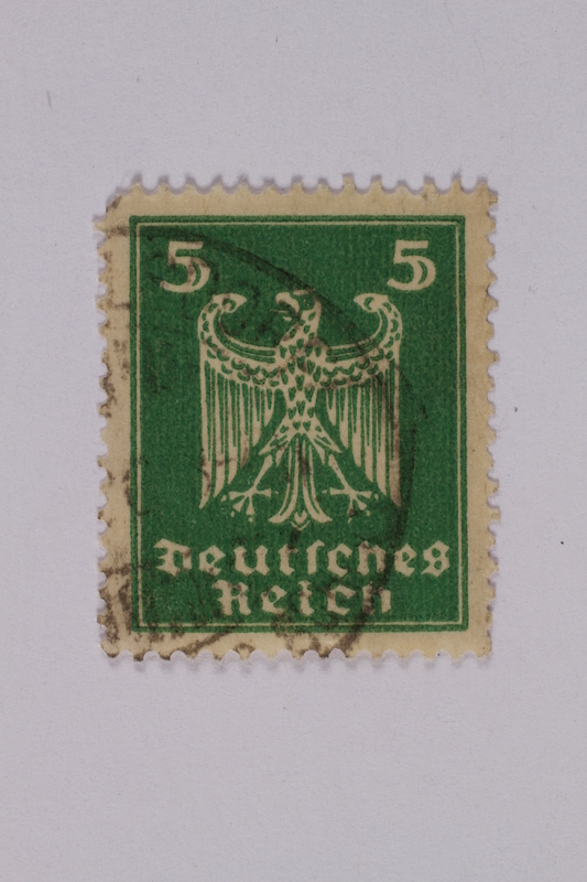 1992.221.166 front Postage stamp