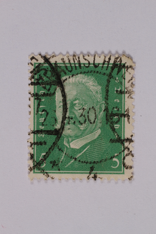 1992.221.167 front Postage stamp