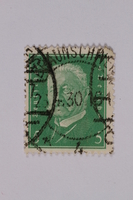 1992.221.167 front Postage stamp  Click to enlarge