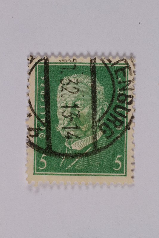 1992.221.169 front Postage stamp