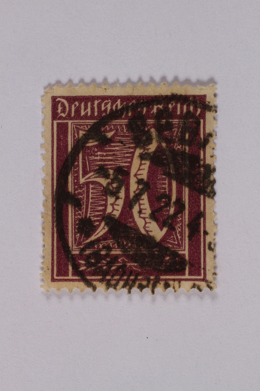 1992.221.177 front Postage stamp