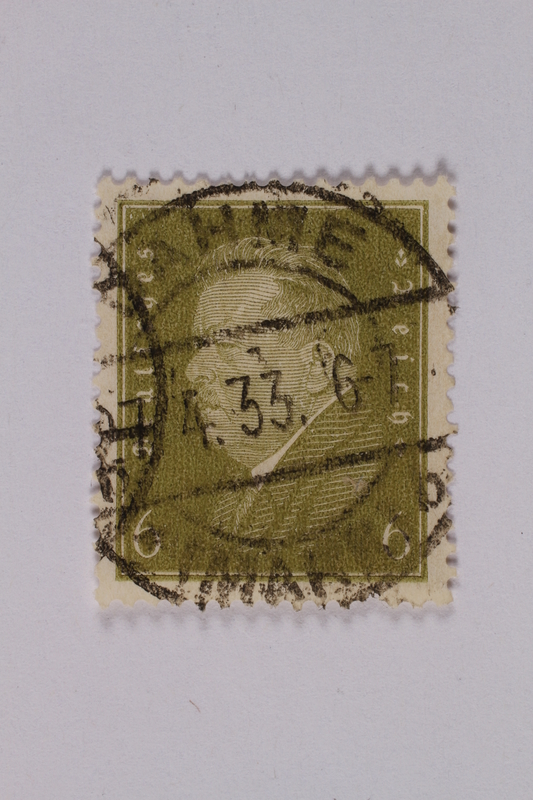1992.221.181 front Postage stamp
