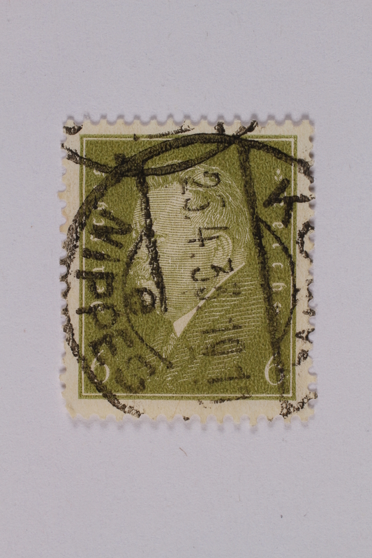 1992.221.182 front Postage stamp