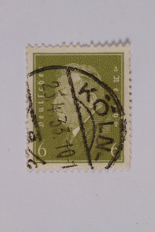 1992.221.183 front Postage stamp