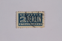 1992.221.184 front Postage stamp  Click to enlarge