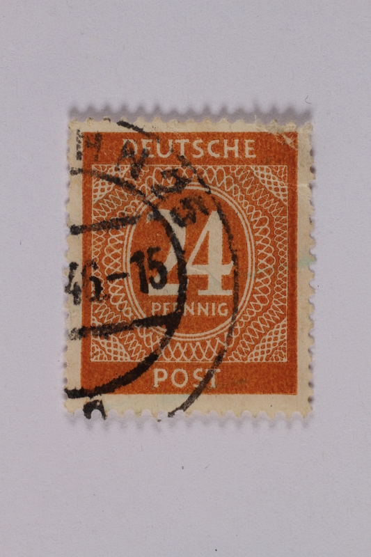 1992.221.185 front Postage stamp