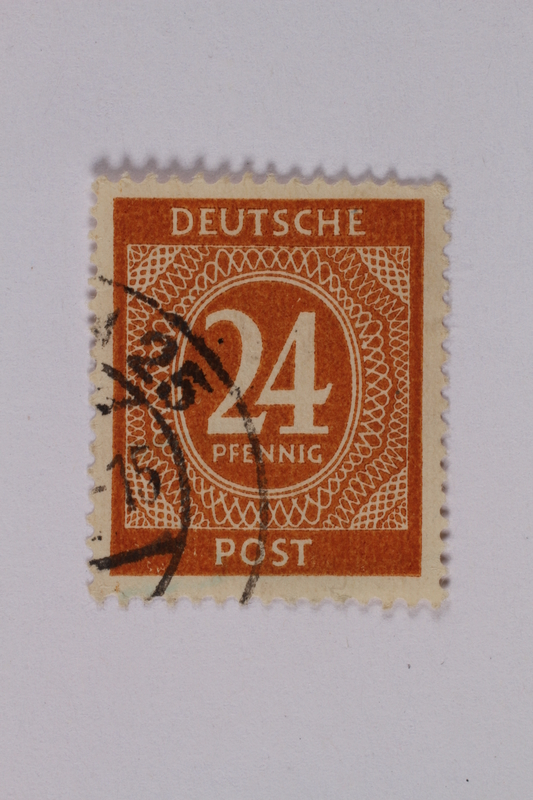 1992.221.186 front Postage stamp