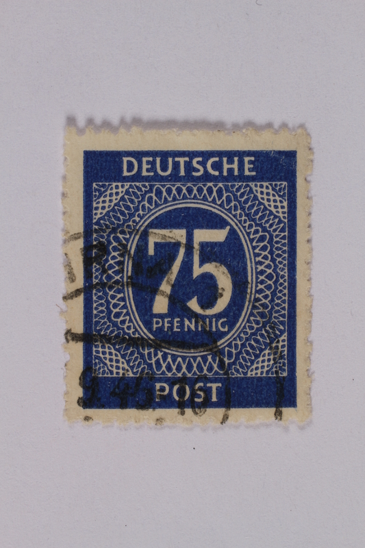1992.221.187 front Postage stamp