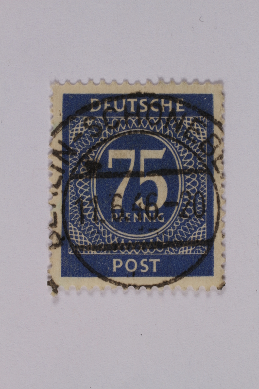 1992.221.188 front Postage stamp