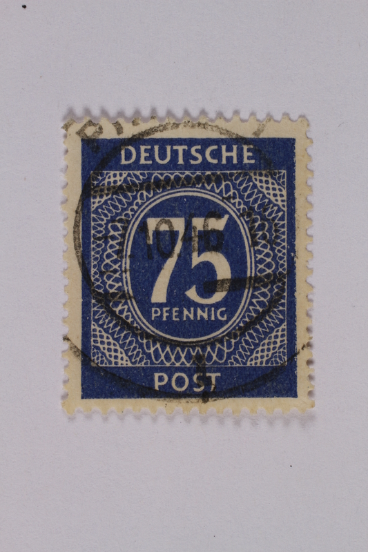 1992.221.189 front Postage stamp