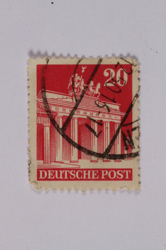 1992.221.190 front Postage stamp