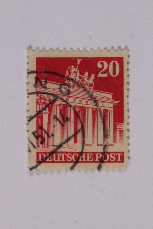 1992.221.191 front Postage stamp