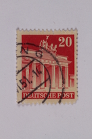1992.221.191 front Postage stamp  Click to enlarge
