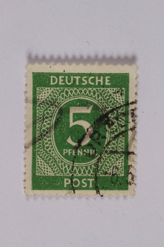 1992.221.192 front Postage stamp