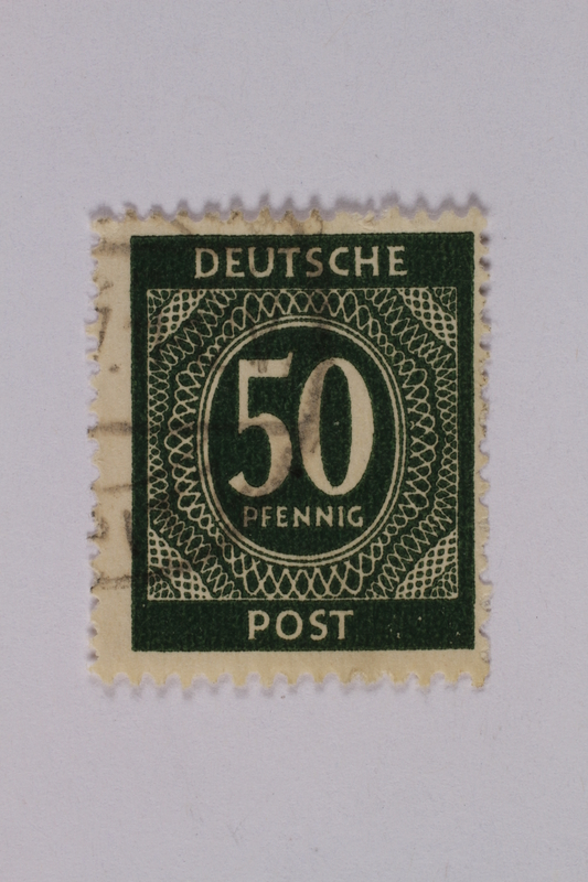 1992.221.196 front Postage stamp