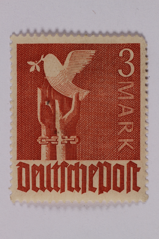 1992.221.197 front Postage stamp