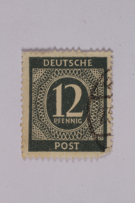 1992.221.198 front Postage stamp