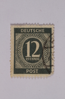 1992.221.198 front Postage stamp  Click to enlarge