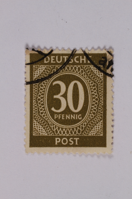 1992.221.200 front Postage stamp